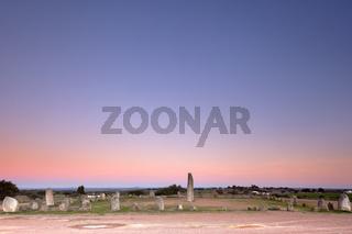 Xarez Cromlech uring the Sunset
