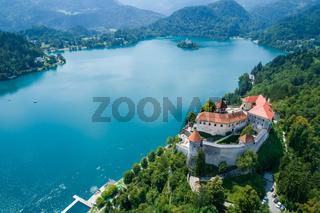 Slovenia Beautiful Nature - resort Lake Bled.