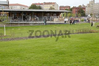 Eröffnung von Moabiter Stadtgarten und ZK/U