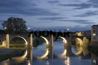Getting dark in the Pont Vieux