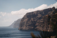 cliffs at the Los Gigantes coast in the southern region of the island of Tenerife