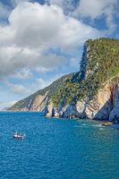 Küste in Porto Venere,italienische Riviera,Ligurien,Italien