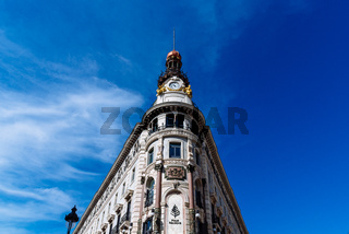 The Four Seasons Hotel in Madrid, Spain