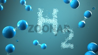 H2 Hydrogen Molecule