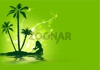 Tropical Holiday Background