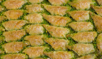 Turkish traditional national tasty desserts Baklava