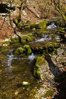 Die Elsach bei der Falkensteiner Höhle, Schwäbische Alb