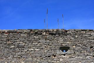 Schlossmauer Diedendorf