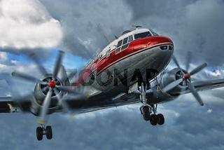alte Dame der Luftfahrt