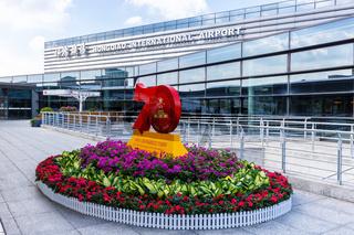 Flughafen Shanghai Hongqiao International Airport Terminal 1 in China