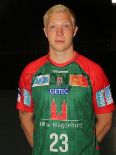 Magnus Saugstrup SC Magdeburg HBL Liqui Moly Handball-Bundesliga Saison 2021-22