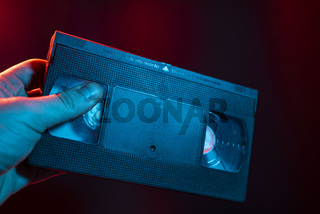 VHS cassette detail 4