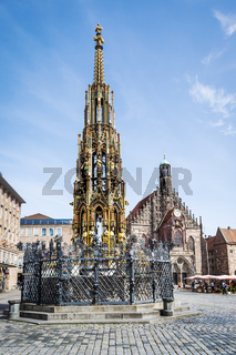 fountain in Nuremberg