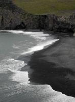 Küste an der Dyrholaey, Island