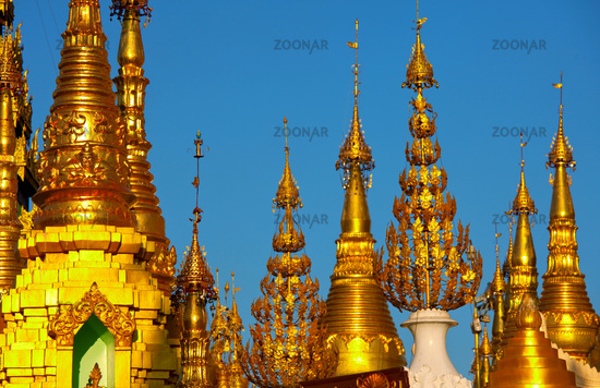Stupa in Myanmar