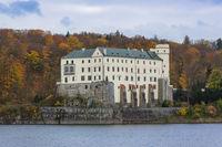 Castle Orlik nad Vltavou in Czech Republic