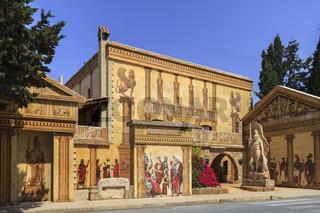 Roman II Hotel Frescoes Paphos Cyprus