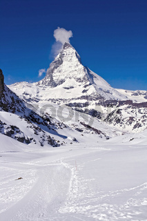 Matterhorn peak Alp Switzerland