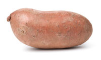 Healthy Sweet Potato Isolated Over White Background