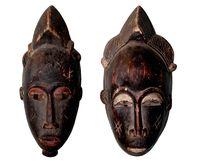 Afrikanische Masken aus Holz