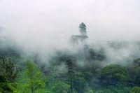 Central plateau in Sri Lanka