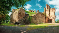 Originally a Kalisz castle, later a Catholic one, abandoned in the nineteenth century.