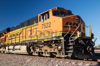 Diesel Locomotive Eastbound