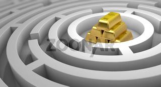 Goldsuche