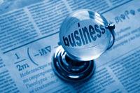 globe and formula of business