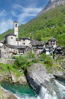 Lavertezzo im Valle Verzasca,Tessin,Schweiz