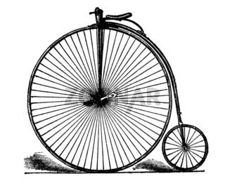 Bicycle von 1885
