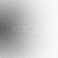 Halftone half circle made of squares