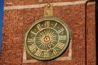 Clock at Wawel Cathedral Bell Tower