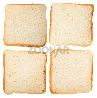 Four slices of bread