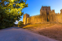 Castle in town Guimaraes - Portugal