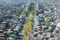 View of hongdae from top
