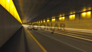 Traffic Tunnel Paris