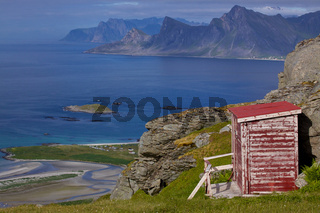 Norwegian panorama on Lofoten