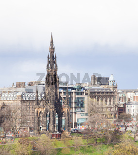 Edinburgh monument Scotland