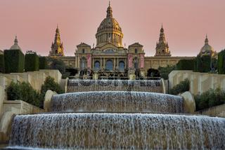 Barcelona. Catalonia. Spain. The Museu Nacional d'Art de Catalunya