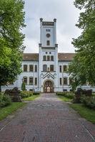 Auricher Schloss, Aurich, Ostfriesland, Niedersachsen, Deutschland