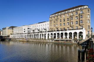 Hamburg Alsterarkaden