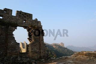 Dilapidated China Great Wall