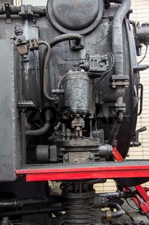 Nostalgie Dampflok Detail