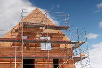 Rohbau Mehrfamilienhaus