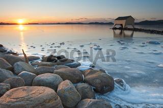 Gefrorener Hafrsfjord 2