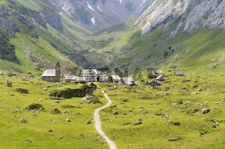 Die Meglisalp in den Appenzeller Alpen