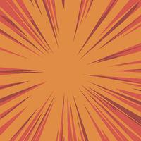 Red Explode Flash, Cartoon Explosion, Star Burst