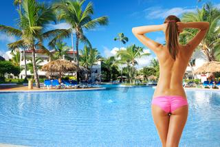 Girl at pool