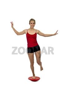 Gleichgewichtsübung